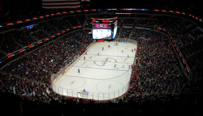 Washington Capitals vs Nashville Predators game