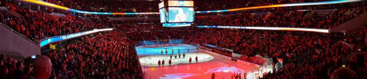 Washington Capitals game National Anthem