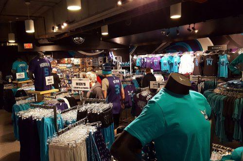 Charlotte Hornets team store