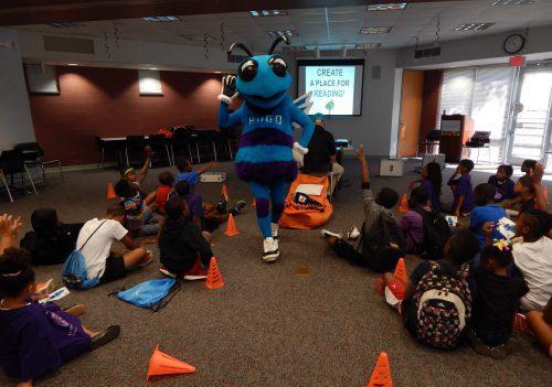Charlotte Hornets mascot Hugo