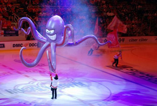 octopus Detroit Red Wings