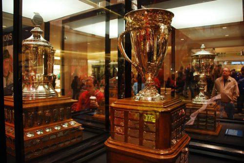 Trophy Case Dallas Stars