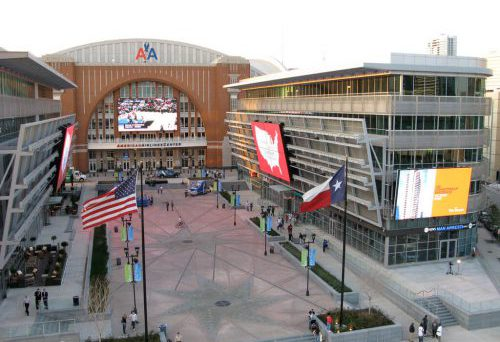 ATT Plaza Dallas Mavericks