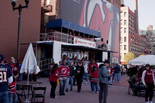 New Jersey Devils fan fest