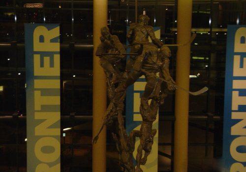 Pepsi Center sculptures