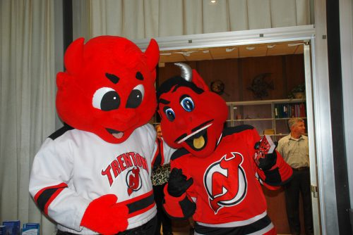 New Jersey Devils mascots