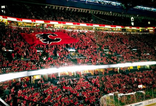 Calgary Flames C of Red