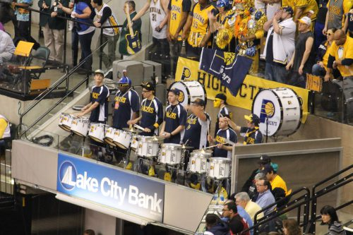 Indiana Pacers band