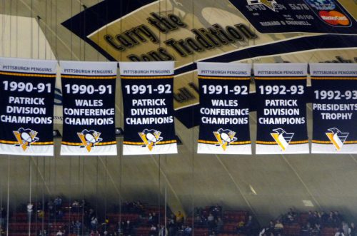 Banners Pittsburgh Penguins