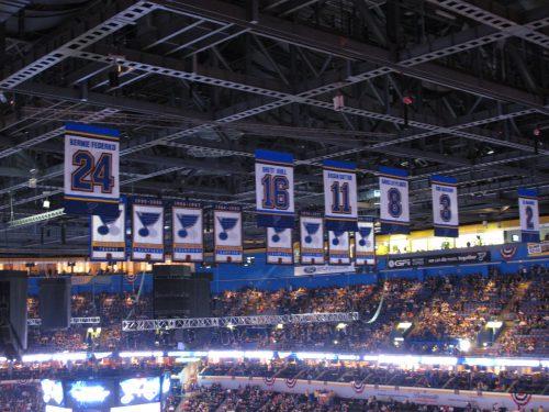 Banners St Louis Blues