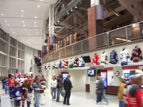 lower level Grand Concourse Goal Bar Prudential Center