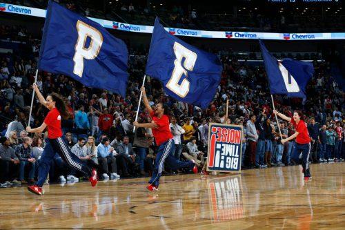 Swoop Troop squad New Orleans Pelicans