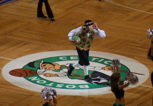 Boston Celtics Lucky The Leprechaun