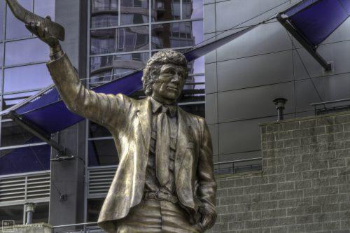 Roger Neilson statue Vancouver Canucks