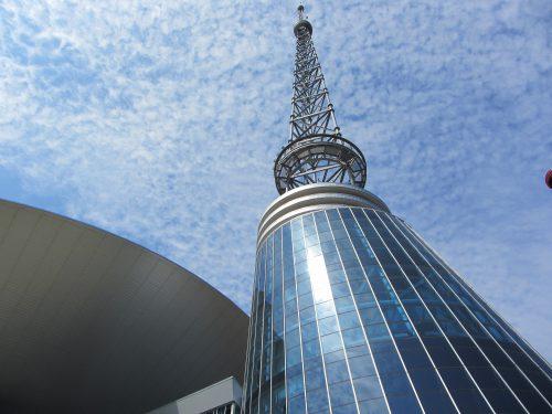 Bridgestone Arena tower