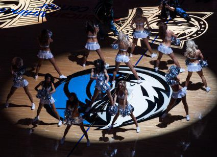 Dallas Mavericks danceres