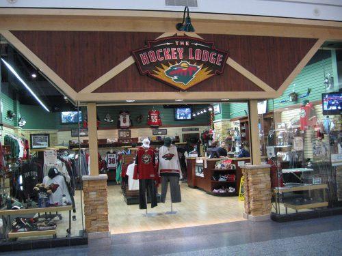 Hockey Lodge team store Minnesota Wild
