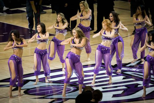 Sacramento Kings dancers