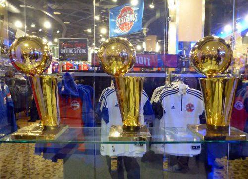 Detroit Pistons locker room store