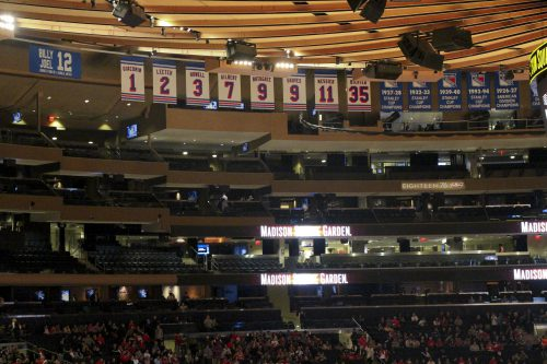 Madison Square Garden banners