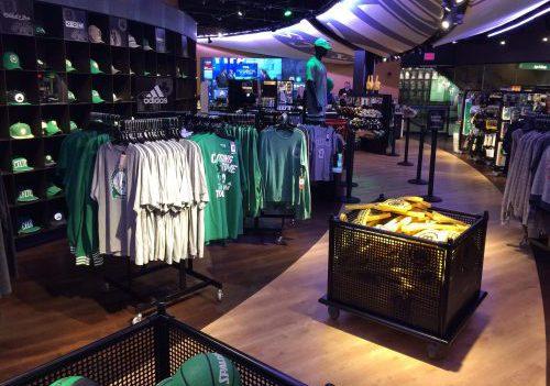 TD Garden Boston Celtics Pro Shop