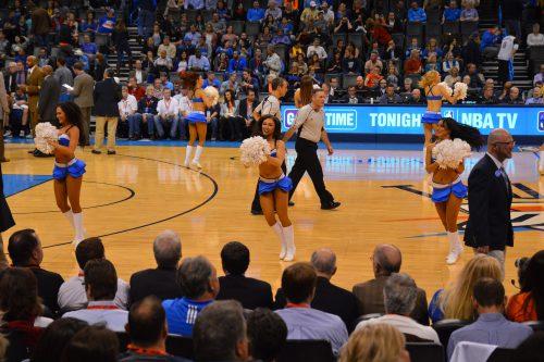 Oklahoma City Thunder girls