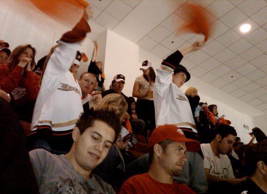 Anaheim Ducks fans