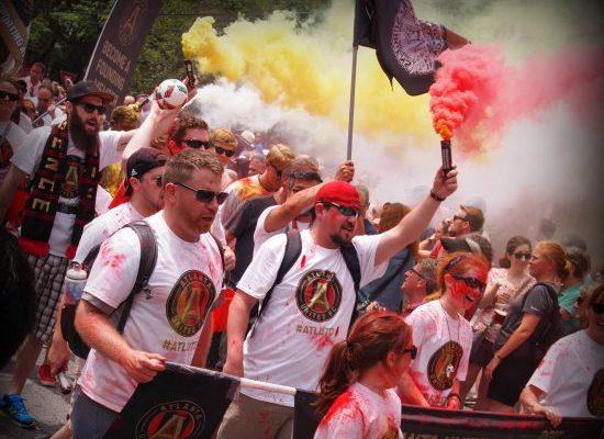 Atlanta United FC march