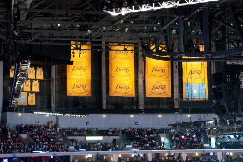 Banners Staples Center