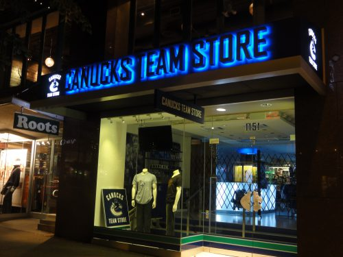 Vancouver Canucks Team Store