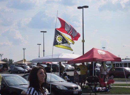 Columbus Crew tailgating fans