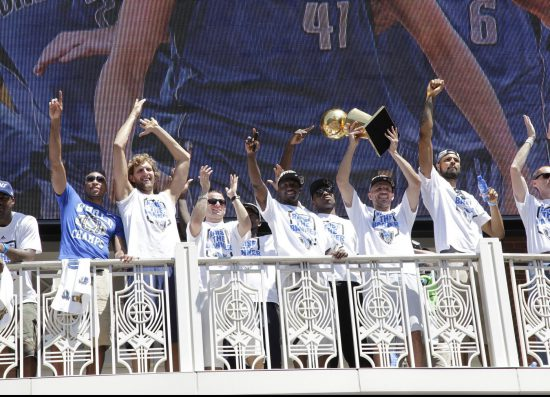 Dallas Mavericks team Champion Victory Parade