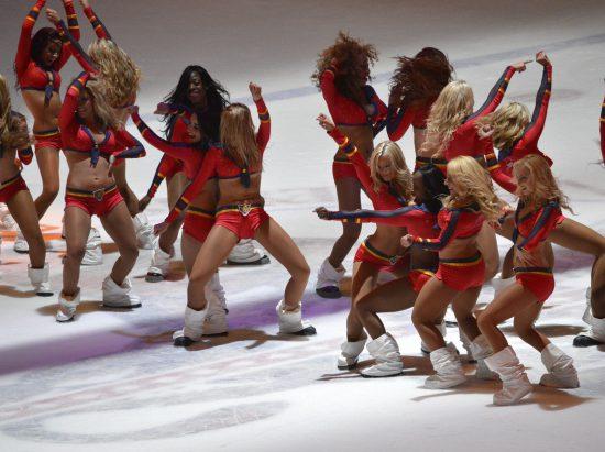 Florida Panthers dancers