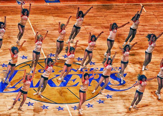 Los Angeles Lakers girls