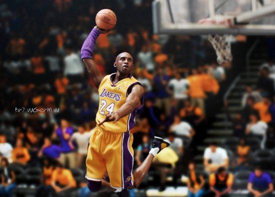 Kobe Slam Los Angeles Lakers