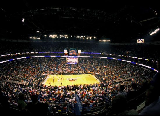 New Orleans Pelicans Opening night