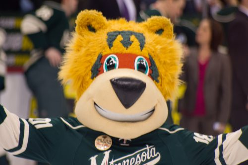 Nordy mascot Minnesota Wild