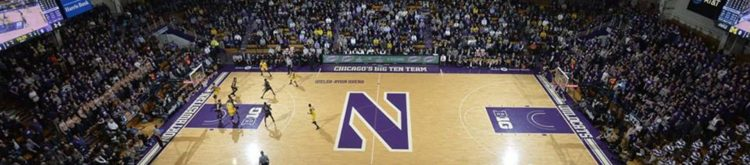 Welsh Ryan Arena Northwestern Wildcats