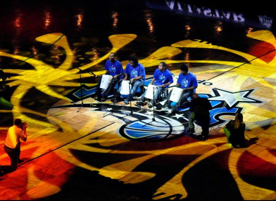 Orlando Magic drum music