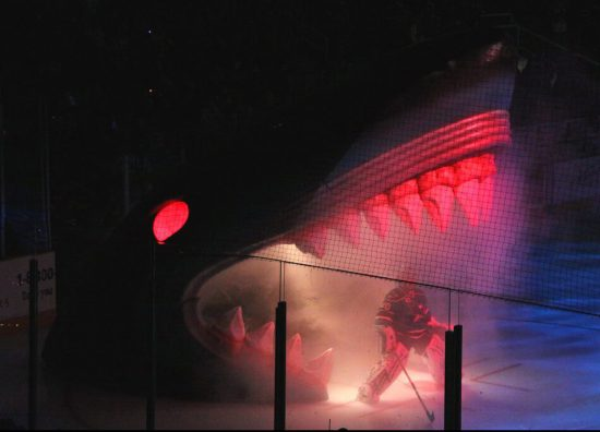 San Jose Sharks Evgeni Nabokov entrance