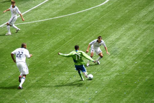 Sounders vs Galaxy soccer game