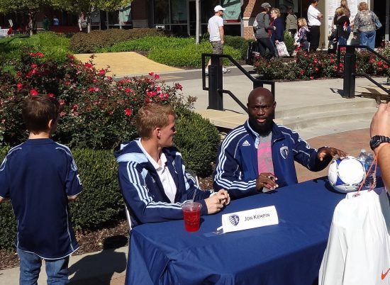 Sporting KC Tailgating Fans