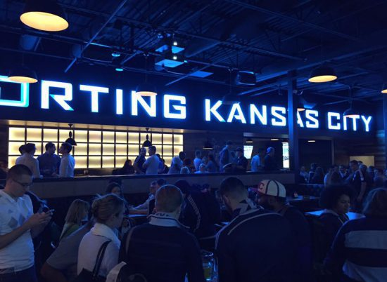 Sporting KC Tailgating Bar