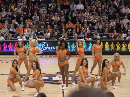 Phoenix Suns dancers