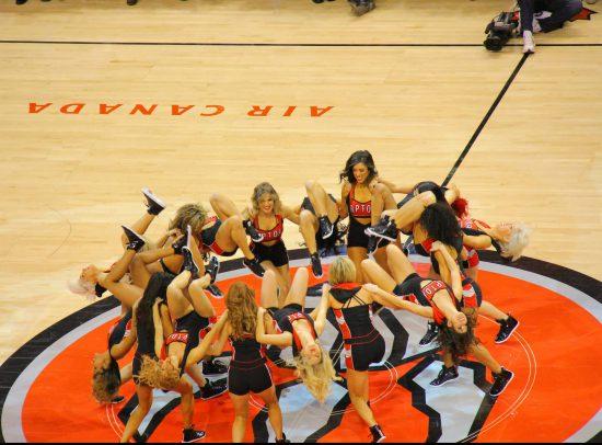 Toronto Raptors cheerleaders