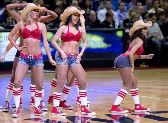 Washington Wizards dancers