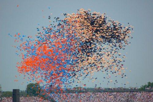 Indianapolis Motor Speedway Balloons
