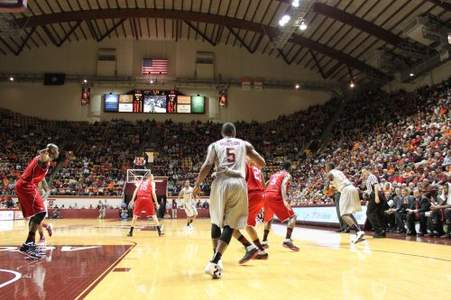 Cassell Coliseum banners