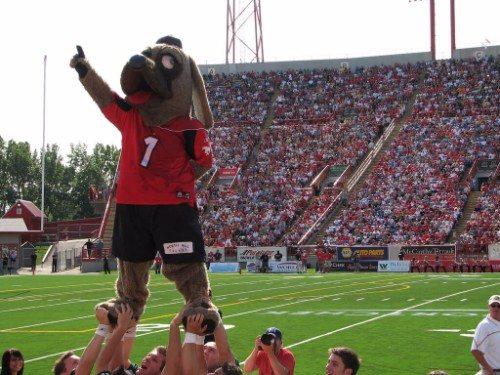 Calgary Stampeders Mascot Ralph