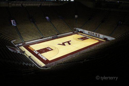 Cassell Coliseum seats